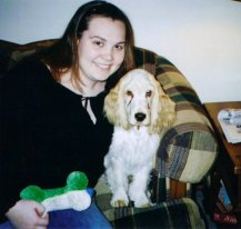 Me & Rocky, late 2002/early 2003.