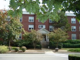 Hassinger Hall, where I lived my freshman year.